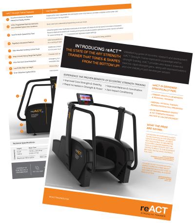 reACT Trainer Brochure